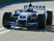 Williams BMW FW26 First Run