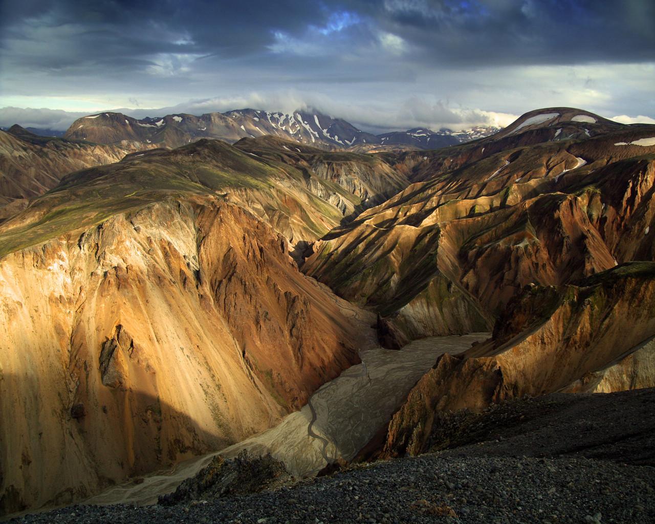 Iceland_Hrafntinnusker_ridge